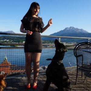 Modeschau und Hotel Artdeco Montana Luzern