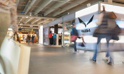Neben Fashion-Trends gibt es im seemaxx auch Sport- und Outdoorbekleidung.