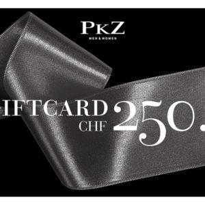PKZ Shopping-Gutschein à CHF 250.- zu gewinnen - Giftcard