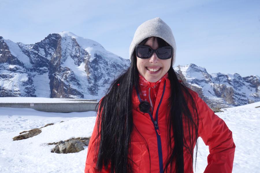 Skifahren mit Tchibo auf der Piste in St. Moritz - fashionpaper