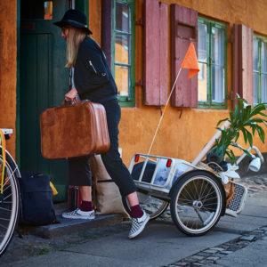 SLADDA – das IKEA Velo ist da mit Gepäckträger