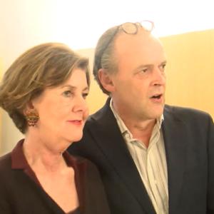 Sven-Eric Bechthold und Helga Rabl-Stadler Montblanc & Salzburg Festival 2014 F TV fashionpaper.ch