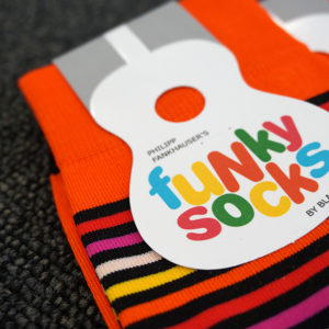 Testbericht: Funky Socks von BLACKSOCKS - Jeder Schritt ein Beat