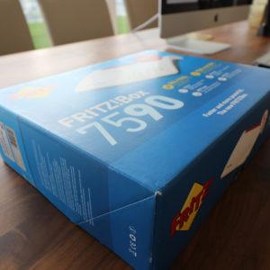 Testbericht meine Erfahrungen mit der Fritzbox 7590 Packaging