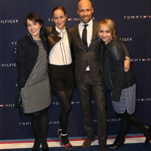 Nicolette Krebitz , Jeanette Hain, Oliver Timm und Anna Maria Mühe - Tommy Hilfiger eröffnete Anchor Store in Berlin