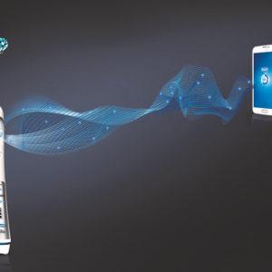 Tutorial Zahnselfie mit der Oral-B Zahnbürste Bluetooth®-Technologie