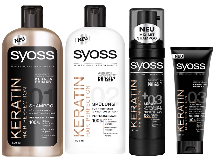 Verlosung Syoss Keratin für strapaziertes Haar gewinnen