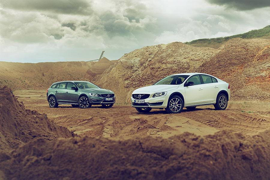 Volvo S60 und V60 Cross Country - Grenzenloses Fahrvergnügen