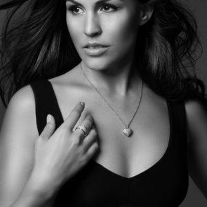 Wer wird das nächste Rhomberg Schmuck Model? Amanda Ammann
