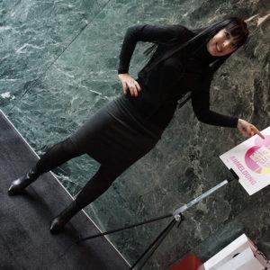 Wolford Dress und Pasito Shoes - Mercedes Benz Fashion Days 2014 in Zürich
