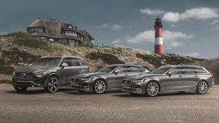 Zur Urlaubszeit: Schwedenflotte von Volvo zurück auf Sylt - S90